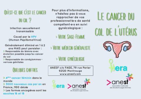 HERA : Axe 1 – La prévention des cancers gynécologiques