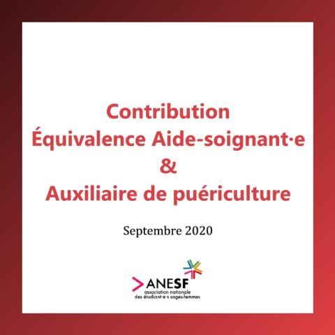 Équivalence Auxiliaire de puériculture – Aide soignant·e