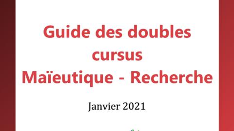 Guide des doubles cursus Maïeutique – Recherche