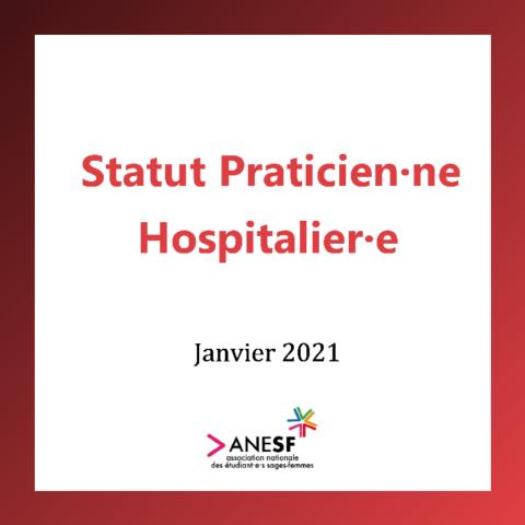 Statut Praticien·ne Hospitalier·e