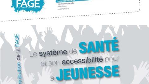 Contribution Fage – Le système de santé et son accessibilité pour la jeunesse