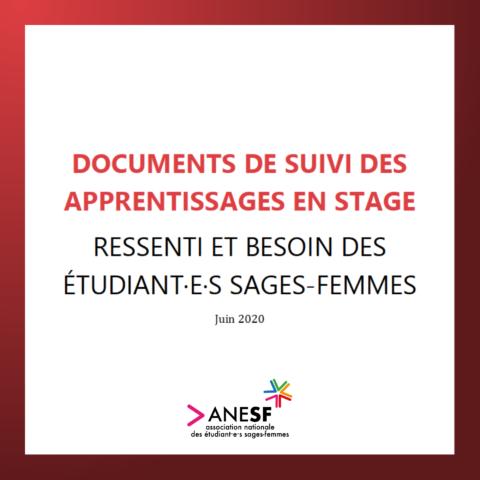 CESRA : Document de Suivi des Apprentissages en Stage