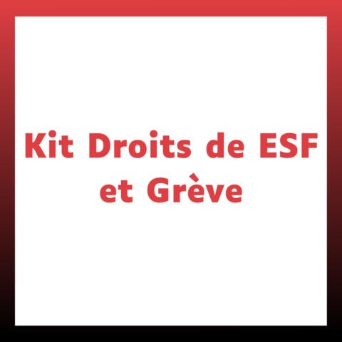Kit Droits de ESF et Grève